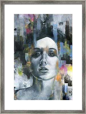Pandora Framed Print by Patricia Ariel