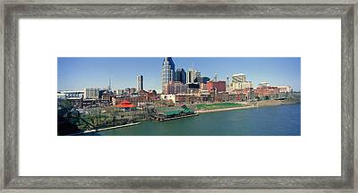 Panoramic Morning View Of Cumberland Framed Print by Panoramic Images