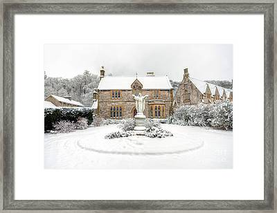Pantasaph Friary Framed Print by Adrian Evans