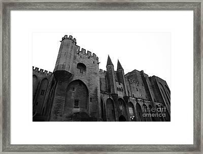 Papal Palace Framed Print by John Rizzuto