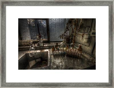 Paper Experiment  Framed Print by Nathan Wright