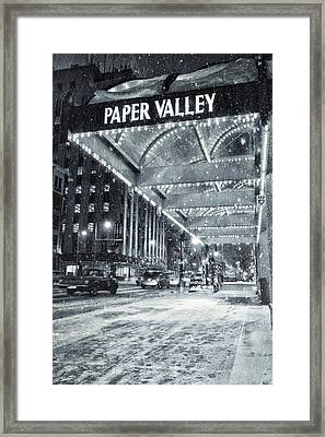 Paper Valley Framed Print by Joel Witmeyer