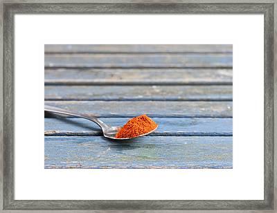 Paprika Framed Print by Tom Gowanlock