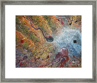 Parable Of Anagenneo Framed Print by Craig Dykstra