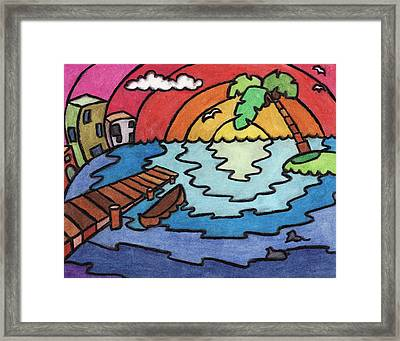 Paradise Framed Print by Ashley King