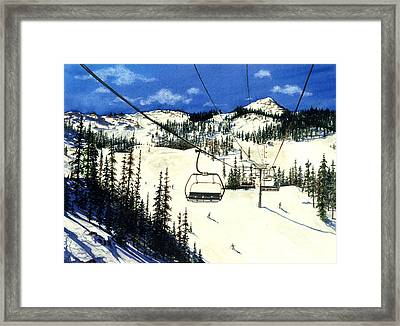 Paradise Bowl Framed Print by Barbara Jewell