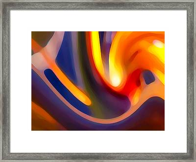 Paradise Creation Framed Print by Amy Vangsgard