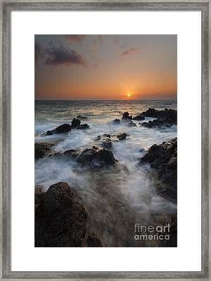 Paradise Flow Framed Print by Mike  Dawson