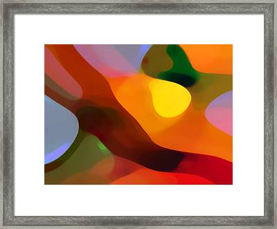 Paradise Found 2 Framed Print by Amy Vangsgard