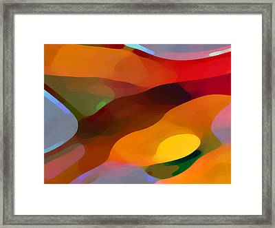 Paradise Found Framed Print by Amy Vangsgard