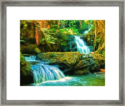Paradise Found Framed Print by Michael Pickett