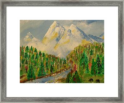 Paradise Framed Print by Harold Greer