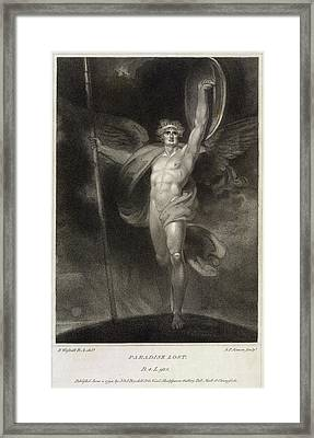 Paradise Lost Framed Print by British Library