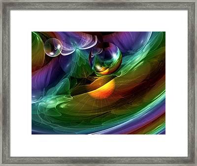 Paradise Framed Print by Mario Telebo