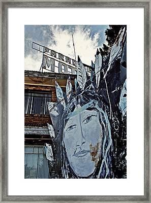 Paradise Motel Framed Print by Ellen and Udo Klinkel