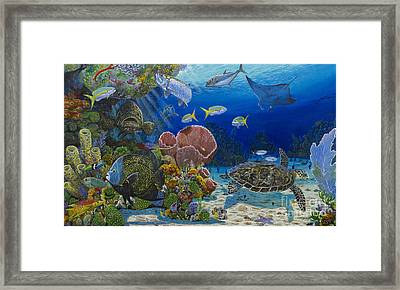Paradise Re0012 Framed Print by Carey Chen