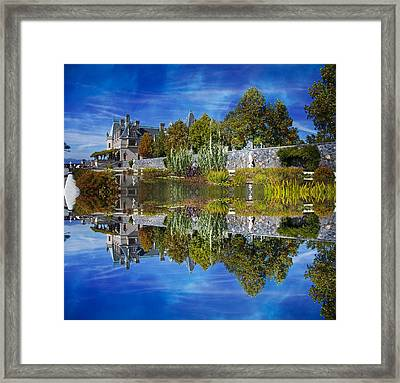 Paradise Reflection Framed Print by Betsy Knapp