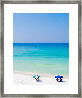 Paradise Framed Print by Shelby  Young
