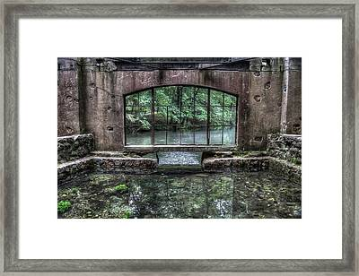 Paradise Springs Spring House Interior 4 Framed Print by The  Vault - Jennifer Rondinelli Reilly