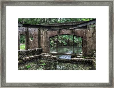 Paradise Springs Spring House Interior 5 Framed Print by The  Vault - Jennifer Rondinelli Reilly
