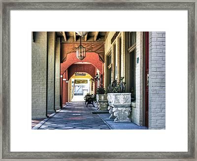 Paradiso Framed Print by Kandy Hurley