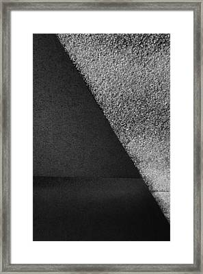 Parallel Framed Print by Adam Cook