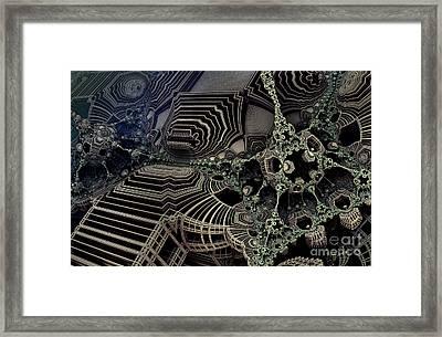 Parallel World 4 Framed Print by Evgeniy Lankin