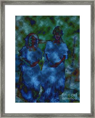 Paranormal Framed Print by First Star Art