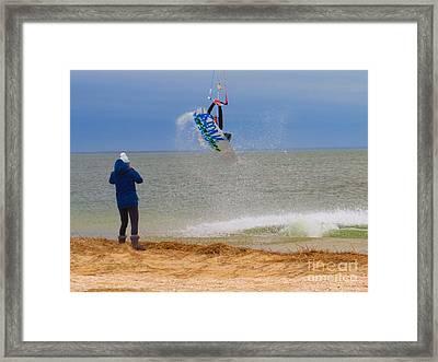 Parasurfer1 Framed Print by Rrrose Pix