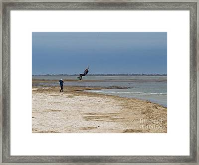 Parasurfer2 Framed Print by Rrrose Pix