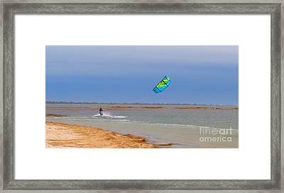 Parasurfer3 Framed Print by Rrrose Pix