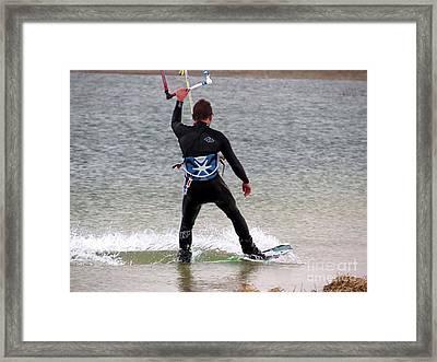 Parasurfer5 Framed Print by Rrrose Pix