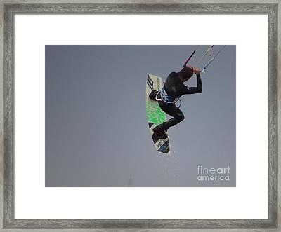 Parasurfer7 Framed Print by Rrrose Pix