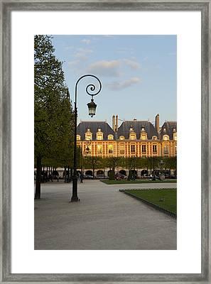 Parc Louis Xiii Framed Print by Art Ferrier