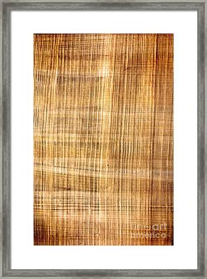 Parchment Background Framed Print by Michal Bednarek