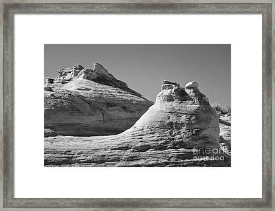 Paria Utah Vii Framed Print by Dave Gordon