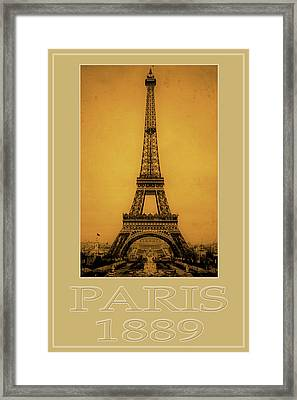Paris 1889  Framed Print by Andrew Fare