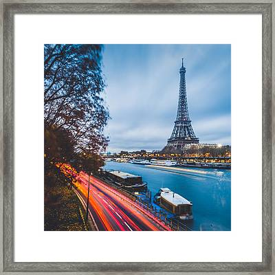 Paris Framed Print by Cory Dewald