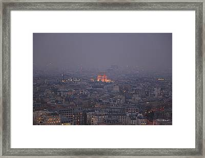 Paris France - Eiffel Tower - 011318 Framed Print by DC Photographer