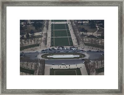 Paris France - Eiffel Tower - 01135 Framed Print by DC Photographer