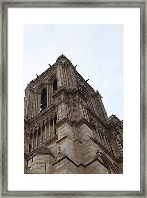 Paris France - Notre Dame De Paris - 01139 Framed Print by DC Photographer