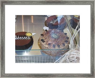 Paris France - Pastries - 121213 Framed Print by DC Photographer