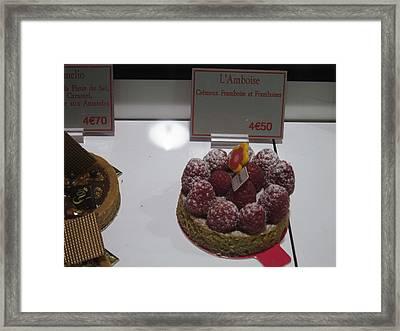 Paris France - Pastries - 1212144 Framed Print by DC Photographer