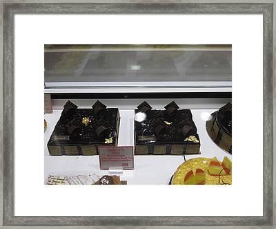 Paris France - Pastries - 1212161 Framed Print by DC Photographer
