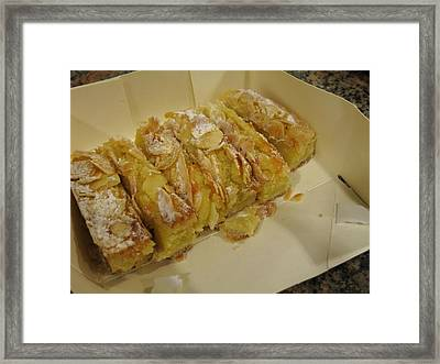 Paris France - Pastries - 1212216 Framed Print by DC Photographer