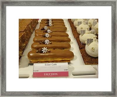 Paris France - Pastries - 121279 Framed Print by DC Photographer