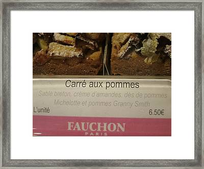 Paris France - Pastries - 121295 Framed Print by DC Photographer