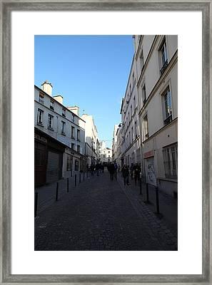 Paris France - Street Scenes - 01131 Framed Print by DC Photographer