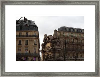 Paris France - Street Scenes - 0113119 Framed Print by DC Photographer