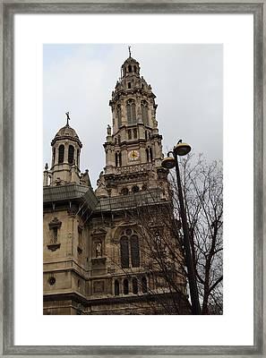 Paris France - Street Scenes - 0113126 Framed Print by DC Photographer